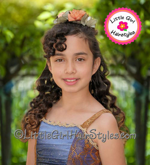 Girls Dance Hairstyle - Perfect for Contemporary Dance