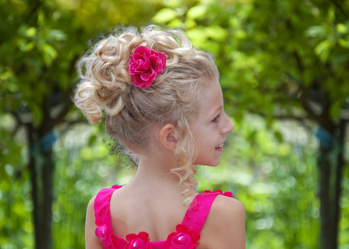 Natural pageant hairstyle updo beautiful hairstyle for girls