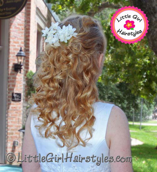 Hairstyle for young Girls with Thin, Fine Hair