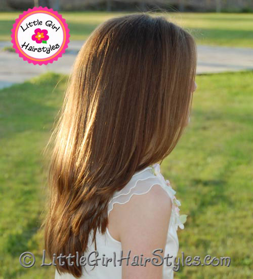 Preteen Girls Hairstyle Silky Smooth