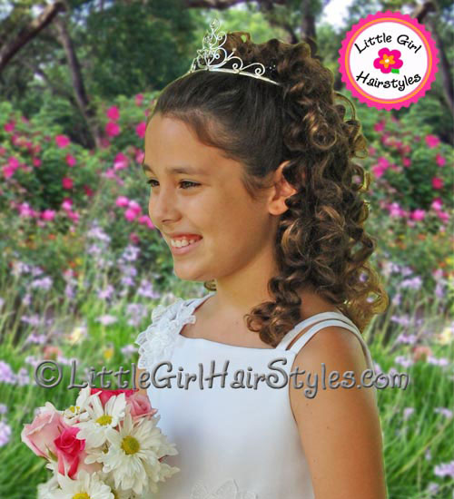 Princess Tiara Hairstyle