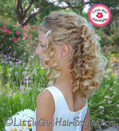 Young Girls Natural Pageant Hairstyle Profile Picture